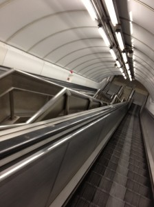 Getting a very early tube makes it feel a bit like everyone in London died off zombies.