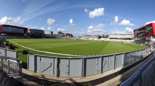 What a lovely view at Old Trafford Emirates for tonights 2020 game against Nottinghamshire